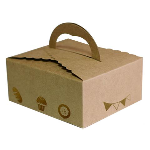 [小ロット] 140ナチュラルクッキー箱